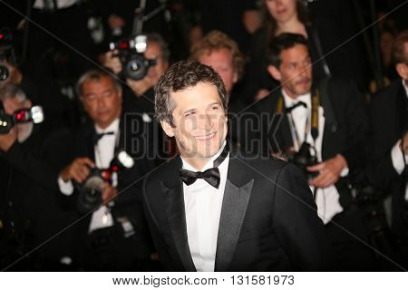 Guillaume Canet attends the 'It's Only The End Of The World (Juste La Fin Du Monde)' Premiere during the 69th annual Cannes Film Festival at the Palais on May 19, 2016 in Cannes, France.