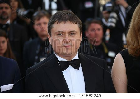 CANNES, FRANCE - MAY 19: Cristian Mungiu attends the 'Graduation (Bacalaureat)' Premiere during the 69th annual Cannes Film Festival at the Palais des Festivals on May 19, 2016 in Cannes, France.