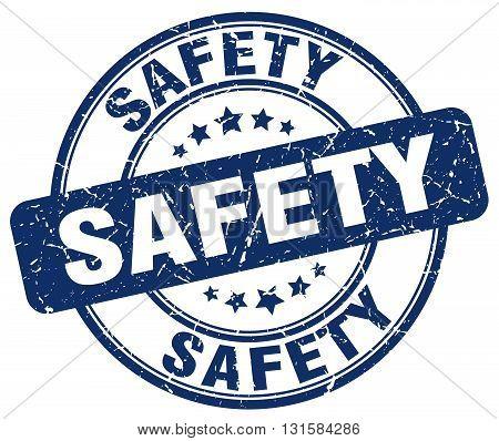 safety blue grunge round vintage rubber stamp.safety stamp.safety round stamp.safety grunge stamp.safety.safety vintage stamp.