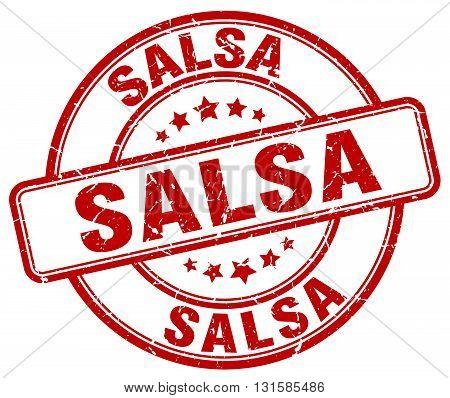 salsa red grunge round vintage rubber stamp.salsa stamp.salsa round stamp.salsa grunge stamp.salsa.salsa vintage stamp.