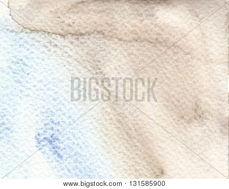 blue brown rough paper textures watercolor background
