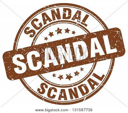 scandal brown grunge round vintage rubber stamp.scandal stamp.scandal round stamp.scandal grunge stamp.scandal.scandal vintage stamp.