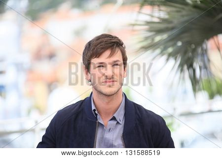 CANNES, FRANCE - MAY 19:  Gaspard Ulliel attends 'It's Only The End Of The World (Juste La Fin Du Monde)' during the Photocall - The 69th Cannes Film Festival on May 19, 2016 in Cannes.