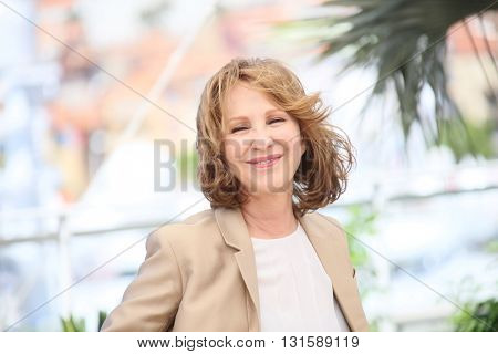 CANNES, FRANCE - MAY 19:  Nathalie Baye attends 'It's Only The End Of The World (Juste La Fin Du Monde)' during the Photocall - The 69th Cannes Film Festival on May 19, 2016 in Cannes.