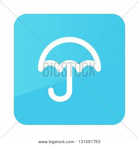 Umbrella Rain outline icon. Meteorology. Weather. Vector illustration eps 10