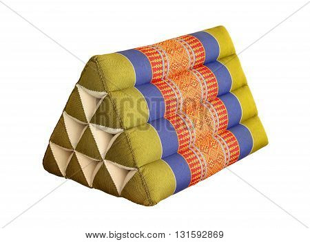 Thailand scatter cushion in isolated white background