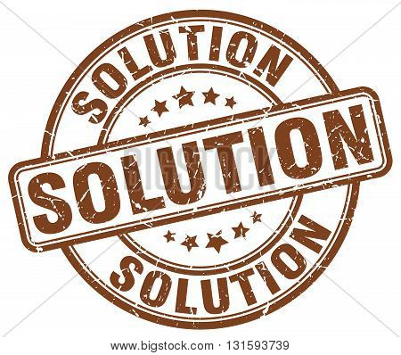 solution brown grunge round vintage rubber stamp.solution stamp.solution round stamp.solution grunge stamp.solution.solution vintage stamp.