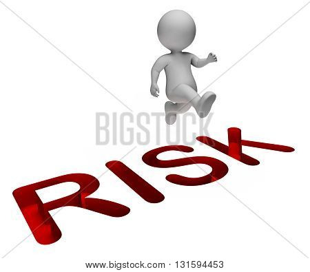 Overcome Risk Indicates Hard Times And Beware 3D Rendering