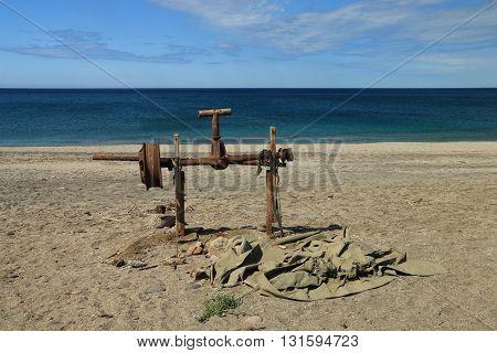 beach of Cabo de Gata-Nijar's natural reserve, Andalusia, Spain