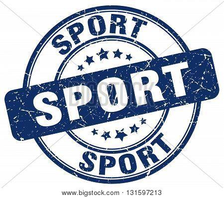 sport blue grunge round vintage rubber stamp.sport stamp.sport round stamp.sport grunge stamp.sport.sport vintage stamp.