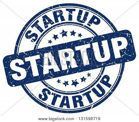 startup blue grunge round vintage rubber stamp.startup stamp.startup round stamp.startup grunge stamp.startup.startup vintage stamp.