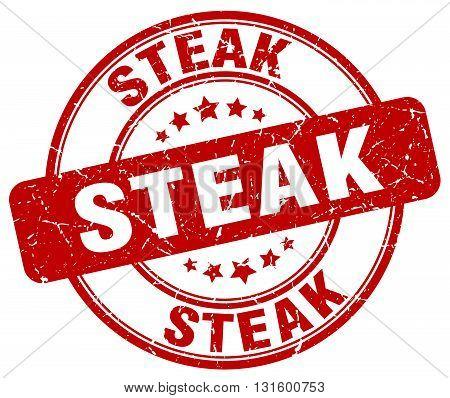 steak red grunge round vintage rubber stamp.steak stamp.steak round stamp.steak grunge stamp.steak.steak vintage stamp.