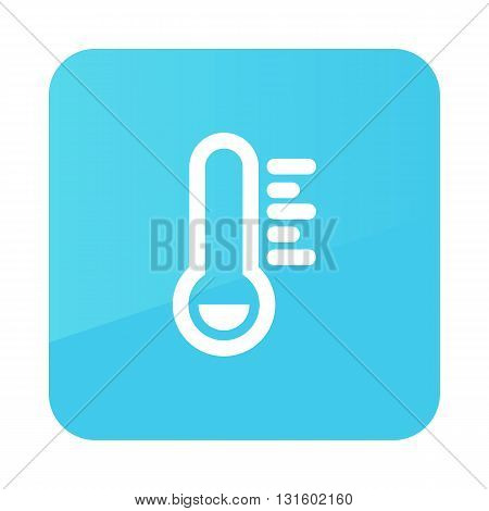 Thermometer Frost Cold outline icon. Meteorology. Weather. Vector illustration eps 10