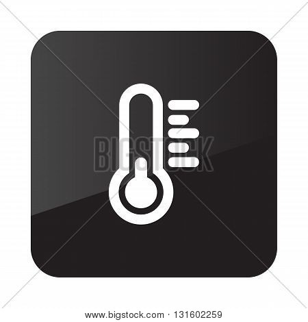 Thermometer outline icon. Meteorology. Weather. Vector illustration eps 10