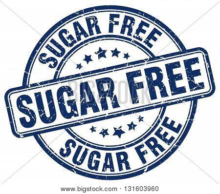sugar free blue grunge round vintage rubber stamp.sugar free stamp.sugar free round stamp.sugar free grunge stamp.sugar free.sugar free vintage stamp.