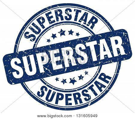 superstar blue grunge round vintage rubber stamp.superstar stamp.superstar round stamp.superstar grunge stamp.superstar.superstar vintage stamp.