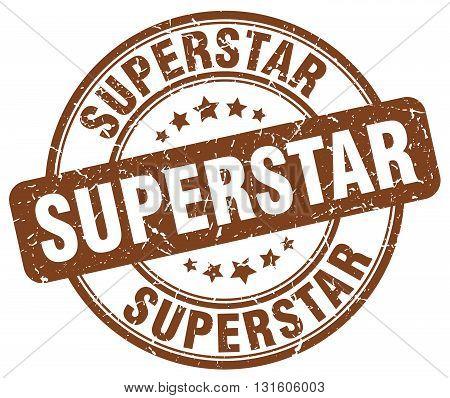 superstar brown grunge round vintage rubber stamp.superstar stamp.superstar round stamp.superstar grunge stamp.superstar.superstar vintage stamp.