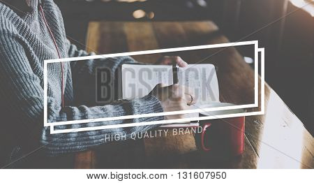 Creative Thinking Notes Frame Graphic Concept
