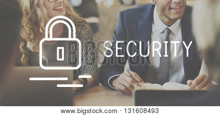 Security Insurance Privacy Private Protection Concept