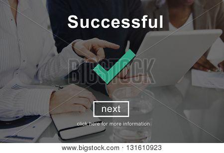 Successful Mission Motivation Improvement Concept