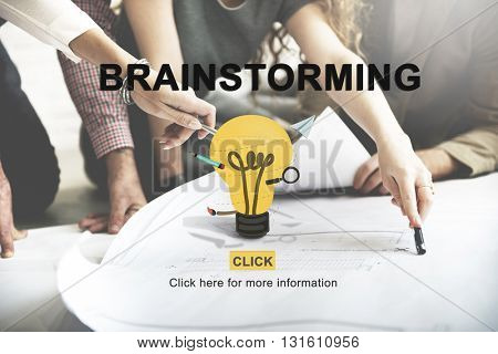 Brainstorming Planning Strategy Solution Concept