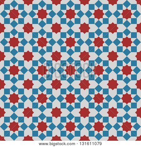 Islamic Background. Vector Seamless Arabian pattern. Geometric ornament arabic pattern background.