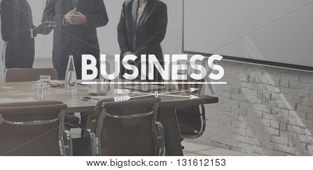 Business Corporate Development Corporation Concept