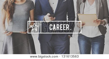 Career Job Occupation Professional Recruitment Concept