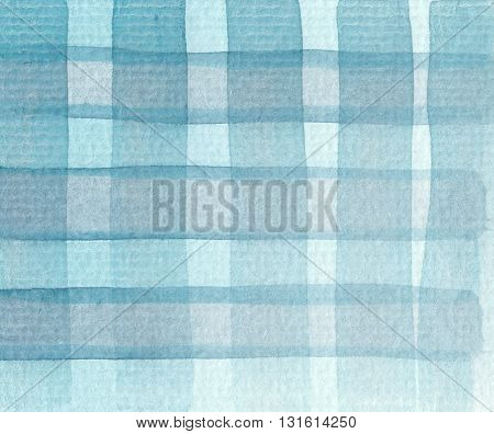 abstract cross pattern blue tones watercolor background