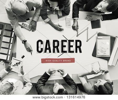 Career Job Development Improvement Occupation Concept