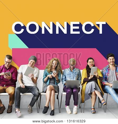 Connect Connection Contact Join Network Social Concept