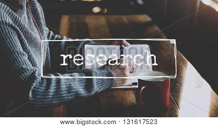 Research Business Examination Exploration Observation Concept