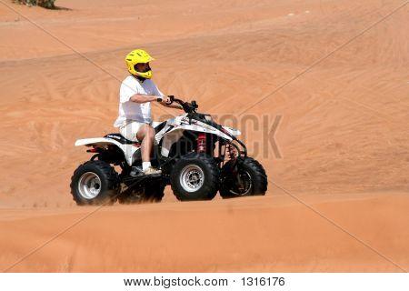 Desert Fun On Quad
