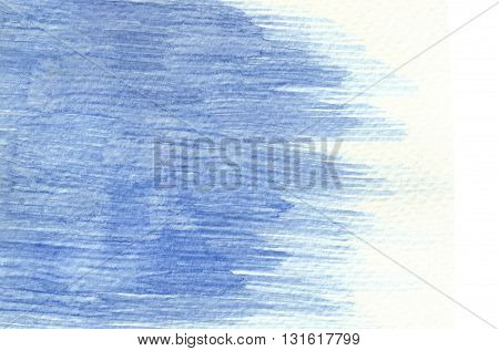 blue brush stroke horizontal linear abstract watercolor background