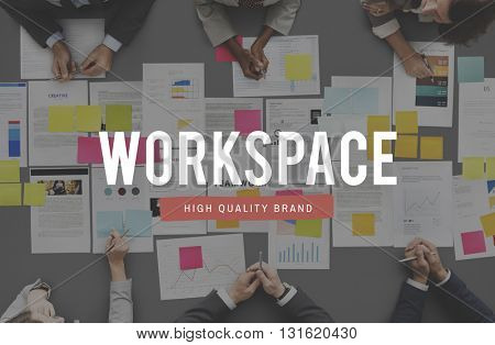 Workspace Workplace Building Commercial Room Concept