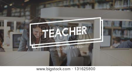 Teacher Coaching Teach Improvement Training Concept