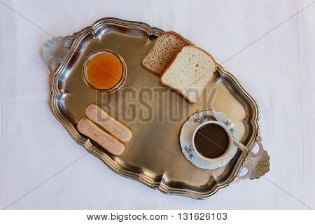 the genuine ingredients to start a healthy breakfast