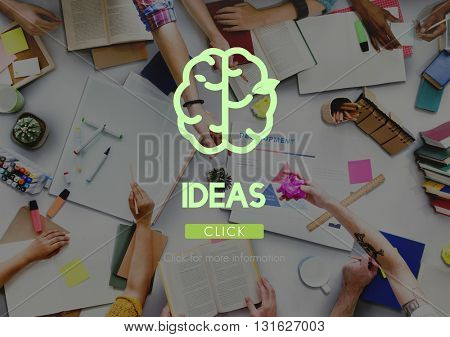Creative Thinking Big Ideas Refresh Concept