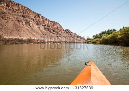 Kayaking On The Orange River
