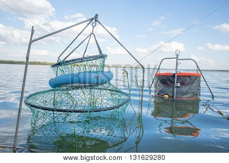 Fishing Pens In Water