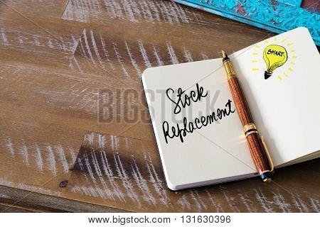 Handwritten Text Stock Replacement