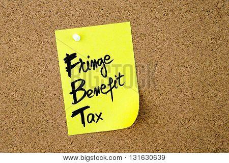 Business Acronym Fbt Fringe Benefit Tax