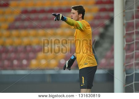 PRAGUE 27/03/2015 _ Marcus Bettinelli, Friendly match Czech Reublic U21 - England U21.