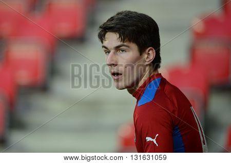 PRAGUE 31/03/2015 _ Robert Hruby. Friendly match Czech Reublic U21 - Portugal U21