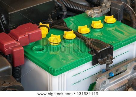 battery of a car. car, battery, repair, automotive,