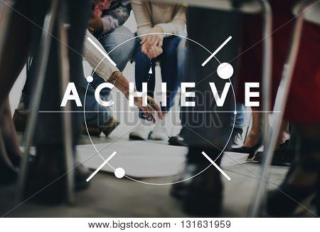 Achievement Mission Success Accomplishment Concept