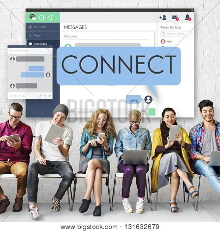 Connect Connection Access Network Join Link Concept