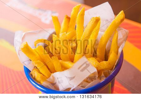 Fench Fries In The Bowl