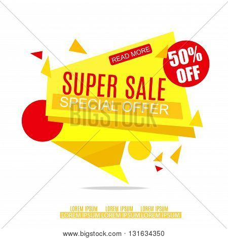 Sale Banner Design. Sale background. Sale Vector Tag for Promotional brochure poster advertising shopping flyer discountbanner.