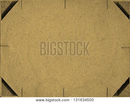 Brown Pressed Cardboard Background Sepia